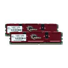 2GB (2x1GB) G.Skill F1-3200PHU2-2GBNS 400MHz DDR PC3200 184-Pin PC SD-RAM Memory