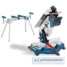 BOSCH 0615990EU2 Kombinationssäge GTM 12 JL Professional + Untergestell GTA 2600