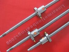Ballscrews 1605 -L286/686/986mm-C7 Anti Backlash Rolled Ballscrew for CNC end M