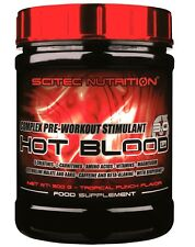 Scitec Nutrition HOT BLOOD 3.0 300g Dose Workout Booster mit Creatin 43,93�'� / Kg