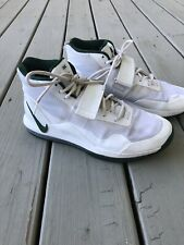 NIKE AIR Force 1 High Top Casual Shoes White/Green Men Shoes Size 10.5