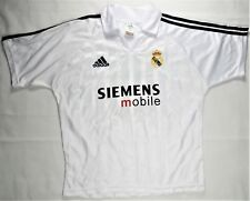 Adidas Real Madrid Beckham Jersey Soccer White XS Champions League Genuine Mint