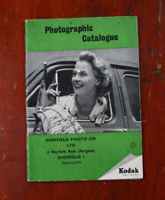 KODAK UK 1957 PRODUCT CATALOG/cks/215763