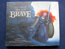 THE ART OF BRAVE - SIGNED by MARK ANDREWS & KATE SARAFIN - DISNEY PIXAR Film