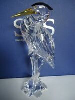Swarovski Figurine - Silver Heron 2007 Retired  - Mint in Box