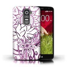 Étuis, housses et coques violets LG G2 pour téléphone mobile et assistant personnel (PDA) LG