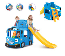 Bus Kids Outdoor Playground Slide Toy Auto Best