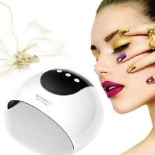 24W Professional Salon Gel USB Nail Polish Dryer Cure LED/UV 8 LEDS Hands Care**