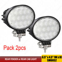 For Case IH 5088 5140 6088 6140 7088 7120 7140 7230 Oval tractor lights x2pcs