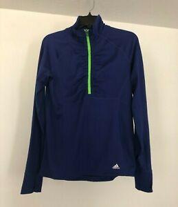 Adidas Climalite Half Zip Woman's Pullover - Size Medium