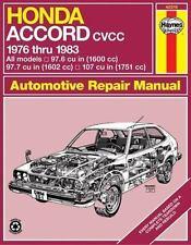 Honda Accord CVCC '76'83 (Haynes Repair Manuals), Haynes, 1850101507, Book, Acce
