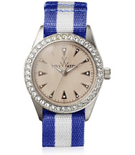 Toy Watch Vintage Lady Blue Stainless Steel Watch 0626