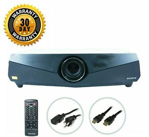 Sony VPL-FE40 3LCD Projector 4000 Lumens HD 1080p HDMI w/Remote bundle