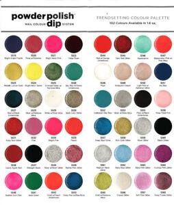 ✨CUCCIO DIPPING POWDER Polish Nail Colour [92 Colors + 2 sizes (1.6 + 5.75 oz.)]