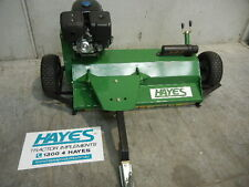 HAYES TOW BEHIND ATV FLAIL MULCHER / MOWER WITH 15HP JF420 ENGINE (QUAD)