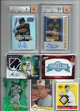 HUGE AUTO JERSEY PSA BGS RC #'D SPORTS CARD COLLECTION LIQUIDATION HOT PACK LOTS