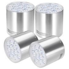4pcs 12w 100mm Diameter COB Recessed Ceiling Panel LED Downlight DIY Parts Kits