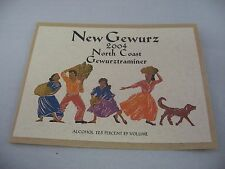 Wine Label: NEW GEWURZ 2004 North Coast Gewurztraminar