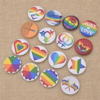 Regenbogen Anstecknadel Homosexualität Brosche Gay Pride Abzeichen Lesbian Deko