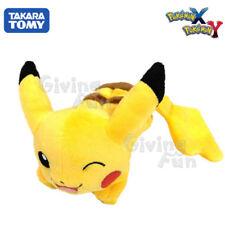 "TAKARA TOMY Pokemon Pocket MONSTER 7"" Female Pikachu Shoulder Clip on Plush Doll"