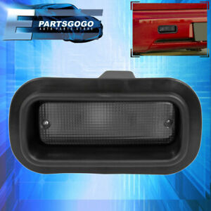 Universal Custom For Rear Fog Lights Bumper Driving Smoke Replacement Lamps