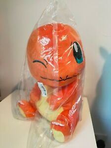Sealed Winking Charmander Large Plushie (12 inch) [Toreba] [Uk Seller] [Quality]