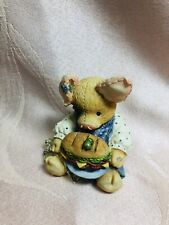 "Vintage Enesco 1994 ""This Little Piggy Ate Roast Beef� Figurine"