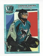 2006-07 Worcester Sharks (AHL) Thomas Greiss (goalie) (New York Islanders)
