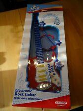 Elektronische Rock-Gitarre Bontempi GR 7350 / Lichteffekten Headset-Micro / OVP