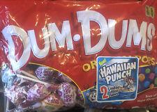 Big 11 Oz Bag Dum Dums Spangler Lollipops Pops Suckers - NEW - Limited Edition