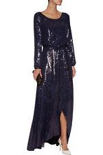 Diane Von Furstenberg DVF 'delani' sequin dress gown BNWT £2000 size US6 UK10