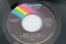 Jerry Wallace: My Wife's House / A Better Way to Say I Love You [Unplayed Copy]