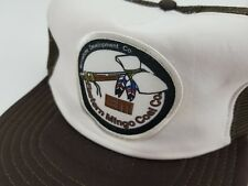 Vtg. Eastern Mingo Coal Co.Trucker's Mesh Snapback Hat *Patch* Made in the USA!