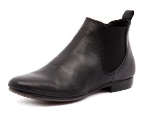 EOS Portugal NILA BLACK Leather Boots RRP $229, Sale!Super comfortable!!