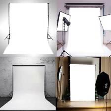 Pure White Vinyl Photography Backdrop Cloth Studio Photo Background Props 3*5ft