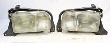 Driver Left Passenger Right Pair Headlight Fits 99-04 Chevy Geo TRACKER