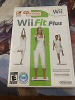 Wii Fit Plus (Nintendo Wii 2009) Tested Game, Case & Manual NO BALANCE BOARD