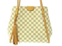 Auth LOUIS VUITTON Propriano N44027 Azur Damier TJ2147 Shoulder Bag