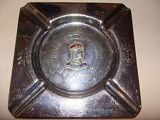 King Edward VIII 1937 Coronation Commemorative Ashtray  Tray Dish Chrome / Brass