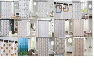 Hala Printed Bathroom Shower Curtain Waterproof Polyester Fabric 180x180cm
