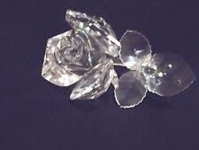 Reduced ! Swarovski Crystal Rose in Original Box !