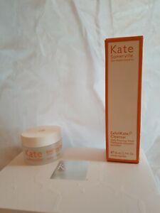 Kate Somerville ExfoliKate cleanser 50ml boxed, Glow moisturiser 15ml set BNIB