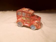 Pre-Owned ~ Woodie Wagon/Truck Shape Coin Bank ~ Ceramic