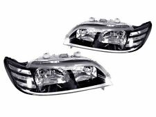 DEPO JDM Pair of Black Trim Headlights w/ Clear Corner For 1997-1999 Acura CL
