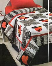 Luv Bug Quilt Pattern Pieced/Applique CV
