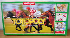 TOTOPOLY HORSE RACING BOARD GAME - WADDINGTONS - FREE UK POSTAGE
