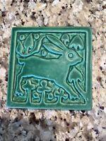 Motawi Tileworks Medieval Rabbit 6x6