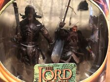 Lord Of The Rings Urak Hai Warrior And Gimli 2 Pack Fellowship Of The Ring