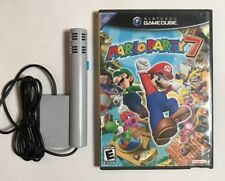 Mario Party 7 (GameCube) COMPLETE w/Case, Manual + Mic (Fast Free Ship Day Of)