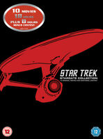 Star Trek: The Movies 1-10 DVD (2013) Patrick Stewart, Baird (DIR) cert 12 12